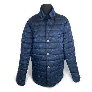 Eleventy Blue Army Camouflage Jacket SOLD!